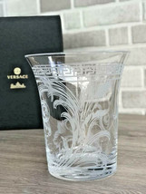 Versace by Rosenthal Vase Arabesque Crystal H18 cm / H 7.1 in NEW - $227.70