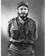 Fidel Castro SFOL Vintage 8X10 BW Historical Memorabilia Photo - $6.99