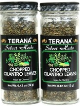 2 Ct Terana 0.42 Oz Select Herbs Add To Dishes Chopped Cilantro Leaves B... - $10.99