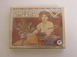 A Mucha Piatnik Playing Cards ~ Vienna Austria Double Deck. No 2552 NIP NEW - $18.47