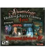 THE BEAST OF LYCAN ISLE Hidden Object 4 PACK +BONUS PC Game DVD NEW - $16.96