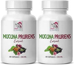Mood Support Supplement for Men - MUCUNA PRURIENS Extract 350MG - Now do... - $29.35