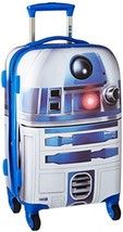 Tourister Star Wars 21 Inch Hard Side Spinner Multi Blue Cool Design Kid... - $159.56