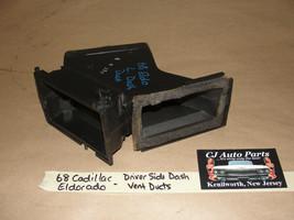 OEM 68 Cadillac Eldorado LEFT DRIVER SIDE DASH A/C HEATER VENT DUCT #148... - $84.99