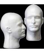 New Prop Building Supplies-MANNEQUIN HEAD-Halloween Costume Mask Wig Dis... - $11.73