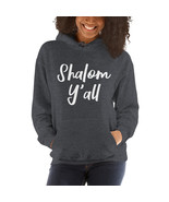 Shalom Y'all- Unisex Hoodie (Shalom/Peace to all/peace on earth/perfect ... - $28.50+