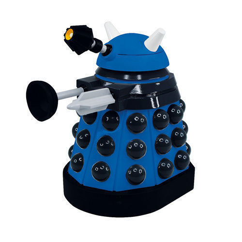 Doctor Who Titans Blue Strategist Dalek Vinyl Figure  New in Original Box
