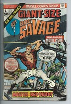 Doc Savage #1 Giant-Size Original Marvel Comic Book from 1975 Master Red... - $3.59