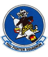 USAF 152ND fIGHTER SQUADRON PATCH STICKER - $9.89