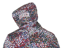 Dope Seurat Men's Pullover NWT image 3