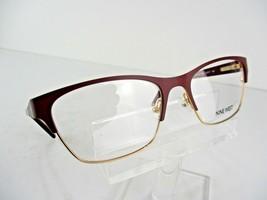 Nine West NW 1072 (602) Burgundy 52 x 17 135 mm Eyeglass Frames - $58.87