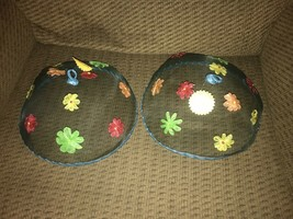 Screen Mesh Food Fly Bug Covers Domes Picnic BBQ with Mackenzie CHilds N... - $21.78