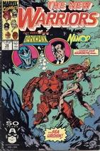 (CB-5) 1991 Marvel Comic Book: The New Warriors #14 - £1.58 GBP