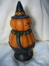 Bethany Lowe Pumpkin Pete Spooks Jar for Halloween image 4