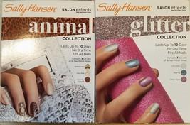 Sally Hansen Salon Effects Real Nail Polish Strips 3 Sets Per Collection -CHOOSE - $6.95