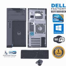 Dell Precision T1650 Computer i7 3770  3.40ghz 16gb 240GB SSD Windows 10 64 Wifi - $396.25