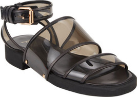 NEW GIVENCHY Transparent Double Band Ankle Strap Sandals (Size 35)-MSRP ... - $499.95