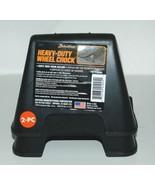 RhinoGear 11930MI Heavy Duty Wheel Chock Set of 2 Black - $15.95