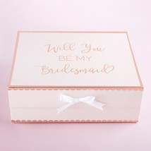 Will You Be My Bridesmaid Kit Gift Box (Pink)  - $11.99