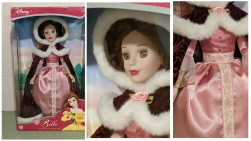 Primary image for Royal Belle Porcelain Keepsake Doll Beauty and the Beast Holiday Edition Disney