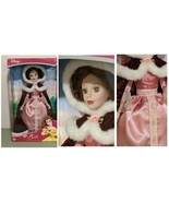 Royal Belle Porcelain Keepsake Doll Beauty and the Beast Holiday Edition... - $97.99