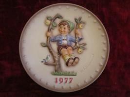 1977 Goebel Hummel collector plate APPLE TREE BOY - $28.99