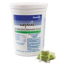 Detergent/disinfectant, Lemon Scent, .5oz, Packet, 90/tub, 4 Tubs/carton - $209.73