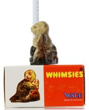 No. 8 Beaver Miniature Porcelain Animal Figurine - Picture Box Whimsies by Wade image 3
