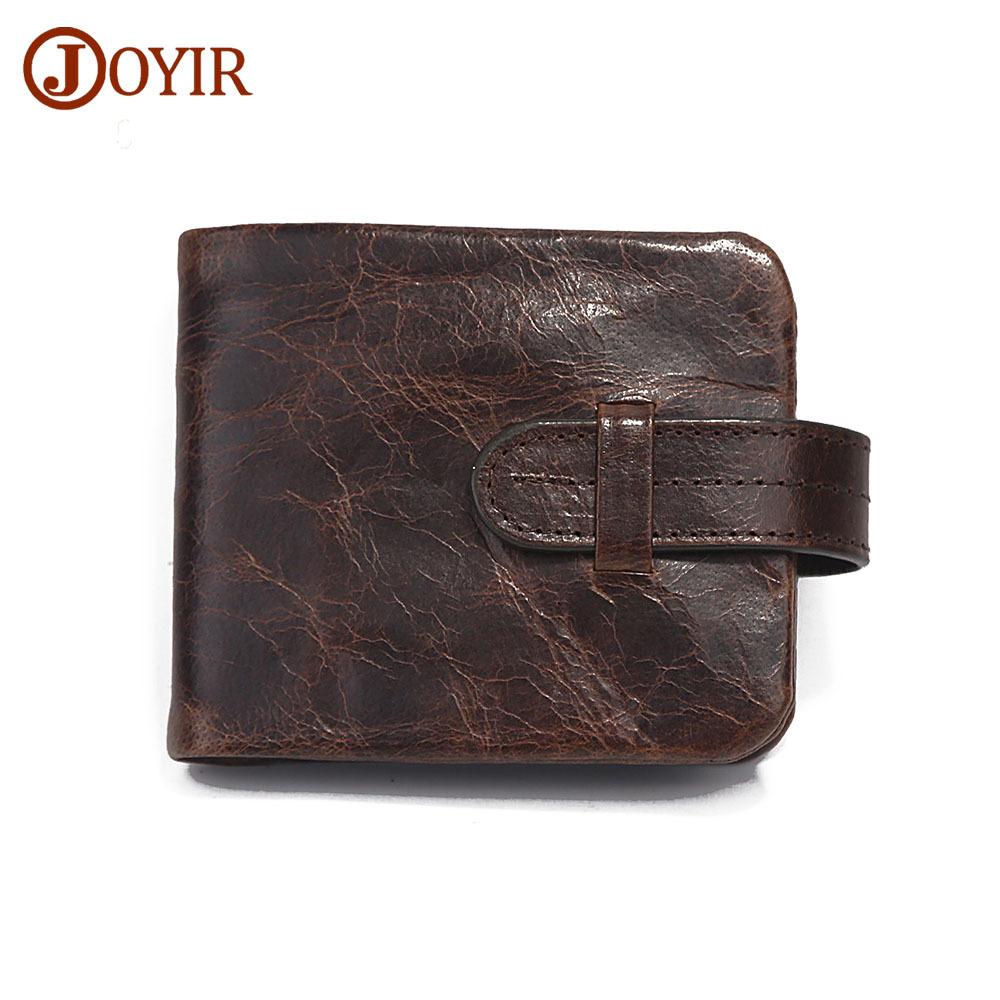 69b76df3d73 JOYIR Genuine Leather Men Wallet Cow Leather Mens Wallet Clutch Card Holder  Men
