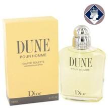 Christian Dior Dune Pour Homme 100ml/3.4fl Eau De Toilette Men Cologne S... - $136.65