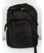OGIO AIRFLOW Black w/Red Stitching Tech Vault Armored Pocket Backpack pre - $704,13 MXN