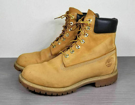 Timberland 'Six Inch Classic Boots, Wheat Leather, Mens Size 9 M - $65.59