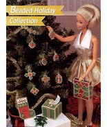 Christmas Beaded Holiday Collection fits Barbie Doll Plastic Canvas PATTERN - $2.22