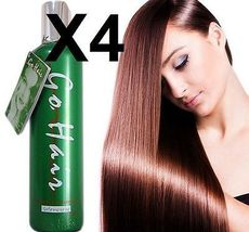 X4 Damaged Hair Go Hair Silky Seaweed Nutrients Best Selling Leave-On Cream - $62.00