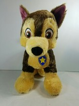 Build A Bear Workshop Paw Patrol Chase Plush Dog - $27.23
