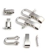 U Shape Adjustable Shackle Outdoor Rope Paracord Bracelet Buckle For Ten... - $6.10