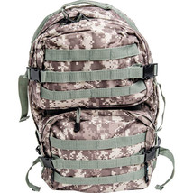 Digital camo water resistant heavy duty army backpack front 1800 lubpadc thumb200