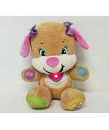 Fisher-Price Laugh and Learn ABC Smart Stages Interactive Girl Puppy Plu... - $16.39