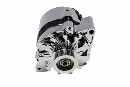 GM CS130 Style 160 Amp Alternator with Serpentine Pulley image 2