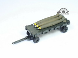 USAF General Purpose Dolly /w bombs for aircraft 1:72 Pro Built Model - $19.78