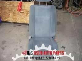 2005 MITSUBISHI LANCER GRAY WITH PATTERN RIGHT FRONT SEAT