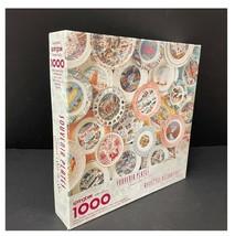 Springbok Souvenir Plates From Sea To Sea 1000 Interlocking Piece Jigsaw Puzzle  - $18.04