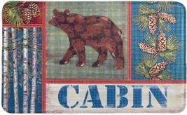 "ANTI-FATIGUE NON SKIP CUSHIONED FOAM MAT (18"" x 30"") ANIMALS, CABIN BROW... - $18.80"