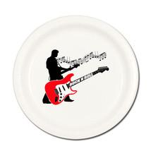 Classic 50's / 1950's Party ROCK & ROLL SINGER W/ GUITAR DESSERT CAKE PL... - $4.99