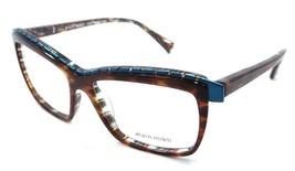Alain Mikli Rx Eyeglasses Frames A02018 4251 54x15 Havana Violet Turquoise Italy - $105.06