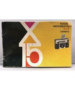 Vintage Kodak Instamatic X-15 Camera Instruction Manual - $29.33
