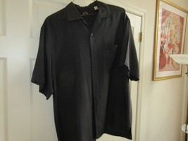 Tommy Bahama , Size M , Men's Short Sleeve Shirt , 100% Silk - $29.95