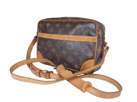 Auth LOUIS VUITTON Trocadero 24 Monogram Canvas Cross-Body Shoulder Bag LS2263  - $298.00