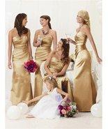 Satin Mermaid Bridesmaid Dresses at Bling Brides Bouquet - Online bridal... - $149.99