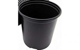 100 Pack Garden Nursery Plastic Pots 1/2 Gallon Flower Plant Containers ... - $59.54 CAD